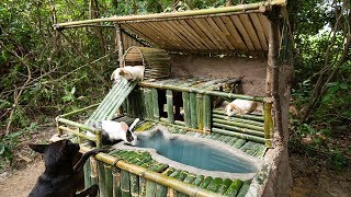 Building The Most Beautiful Mini Pool On Rabbit Villa By Bamboo