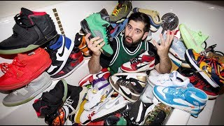 MY ENTIRE $150,000 SNEAKER COLLECTION!! *BEST ON YOUTUBE*