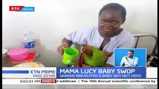 Confusion as lady breastfeeds wrong baby at Mama Lucy Hospital