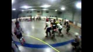 preview picture of video 'Capital City Derby Dolls - Roller Derby - B&W Novice Scrimmage'