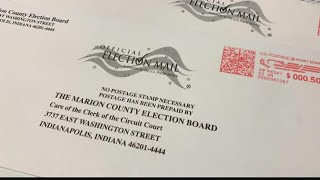 Indiana voters getting mystery absentee ballot applications