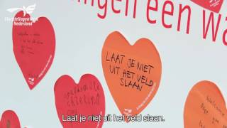 Actie: Warm hart'-campagne in Amsterdam