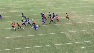 My football game i was the one dat ran the ball i took that ez dubbb