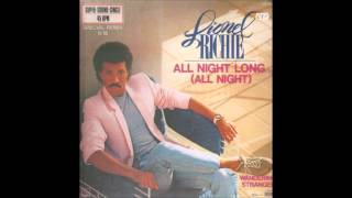 "Lionel Richie - All Night Long (12"" Version) **HQ Audio**"
