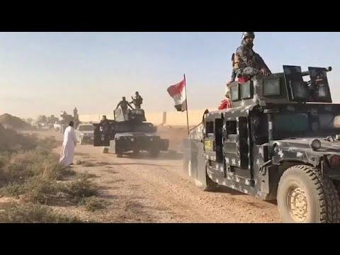 Shia militias press home federal Iraqi forces' advantage in Kirkuk