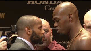 UFC 214: Daniel Cormier vs Jon Jones 2 Face Offs