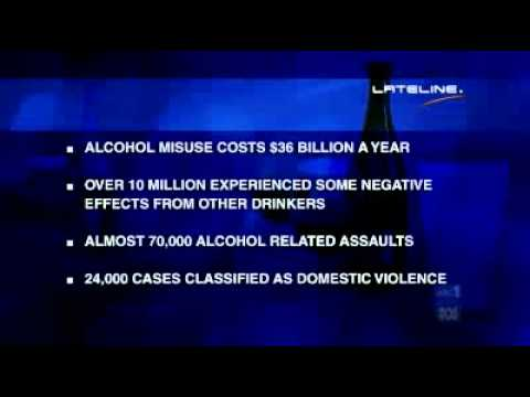 Alcohol costs Australia $36 billion/year: report