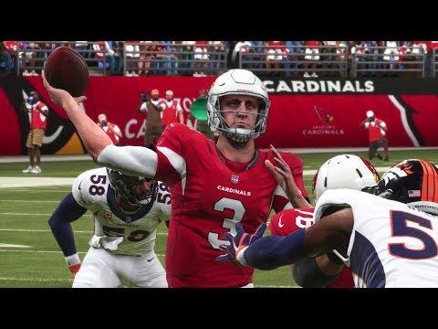 NFL Thursday Night Football 10/18 Denver Broncos vs Arizona Cardinals Full Game NFL Week 7