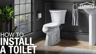 How To Replace And Install A Toilet