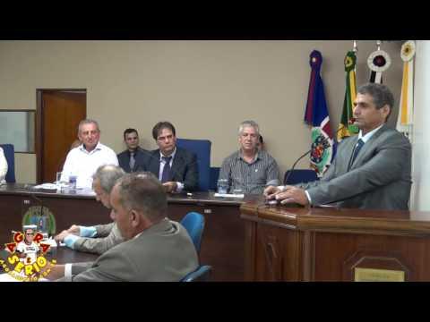 Tribuna Irineu Machado Presidente da Câmara de Juquitiba dia 7 de Fevereiro de 2017