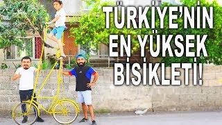 TÜRKİYE'NİN EN YÜKSEK BİSİKLETİNİ YAPTIK!