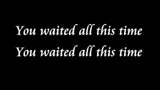 Joe Jonas- All this time lyrics