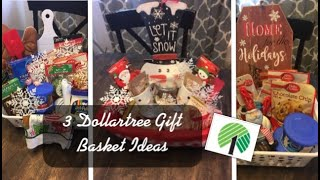 3 Dollartree Christmas Gift Basket Ideas