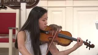 Mimi Fan Performs Concerto #5 In A Minor, Op. 37 By Henri Vieuxtemps