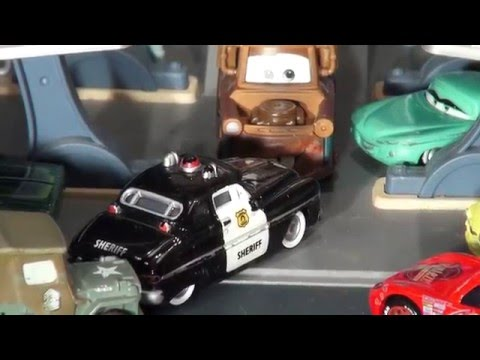 Pixar Cars With Lightning McQueen, Mater, The Delinquent Road Hazards And Screaming Banshee
