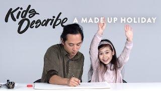 Kids Describe a Made Up Holiday to Koji the Illustrator   Kids Describe   HiHo Kids