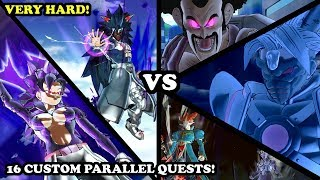 16 NEW CUSTOM PARALLEL QUESTS VS STRONGEST CaCs Buuzer & Rezuub! Dragon Ball Xenoverse 2 Mods