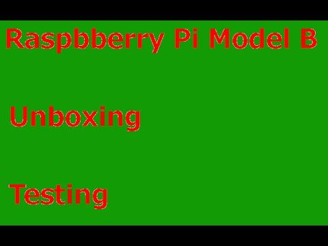 Raspberry Pi 2 Model B Unboxing/Testing [German/Deutsch]