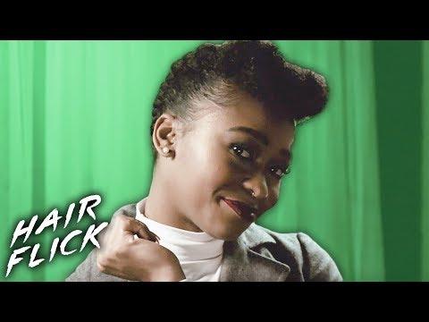 Glam Pinup Tutorial • Hair Flick