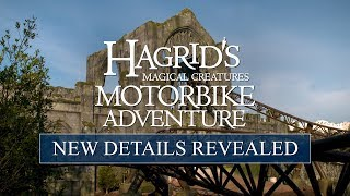 Hagrid's Magical Creatures Motorbike Adventures Opening in June 2019