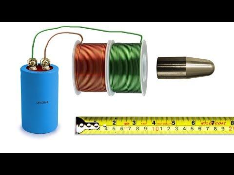 Coil gun - Bullet Speed - Energy Speed - Calculation