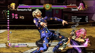 JoJo's All Star Battle: Fugo Rotate Cancel BnB - HD