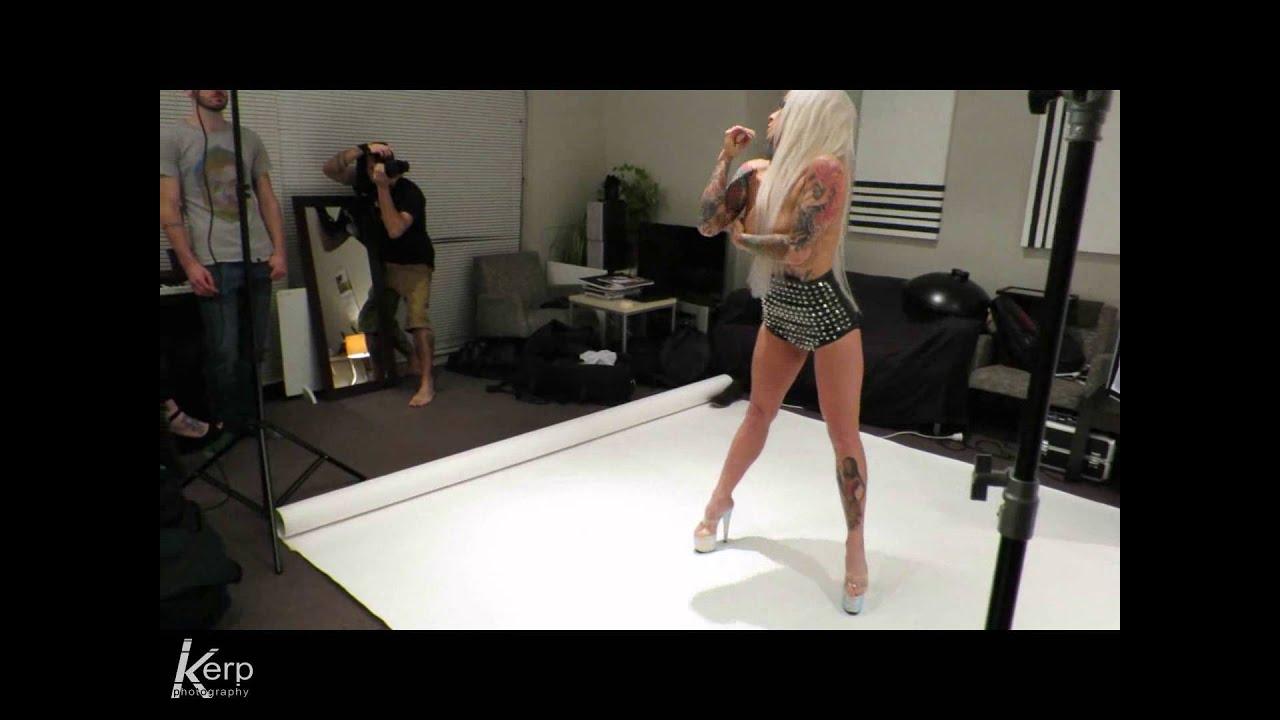 Venus Starr studio shoot trailer
