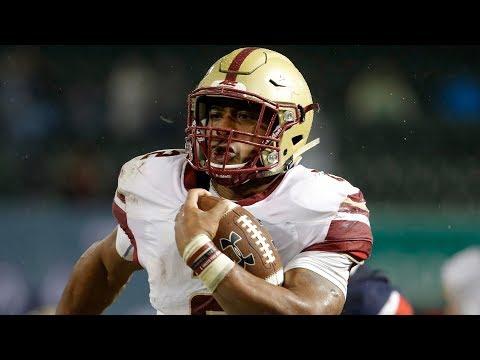 HIGHLIGHTS: AJ Dillon Carries Boston College Over UConn | Stadium