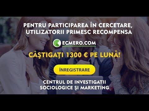 Как заработать без вложений #ECMERO COM платит 1 5 €евро за один опрос