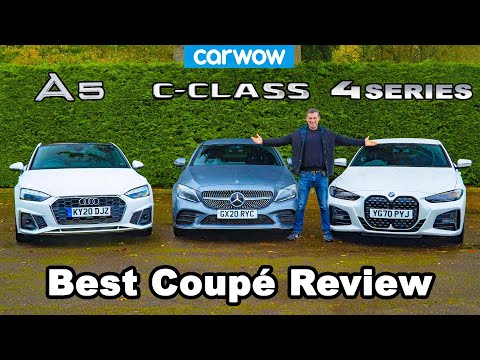 BMW 4 Series v Audi A5 v Mercedes C-Class review - which is best?