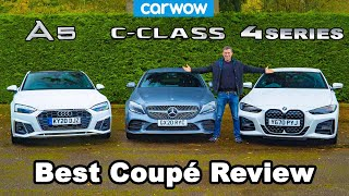 [carwow] BMW 4 Series v Audi A5 v Mercedes C-Class review - which is best?