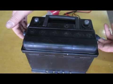 электролит для аккумулятора как сделать