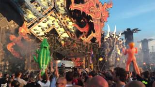 Atmozfears & Audiotricz - What about us @ Defqon.1 Closing 2016