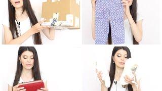 РАСПАКОВКА ПОСЫЛКИ ИЗ АМЕРИКИ: одежда Эми, обувь, кошельки