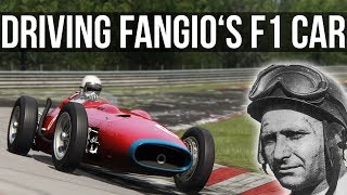 How Fast Can Fangio's Formula 1 Car Lap The Nordschleife?