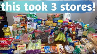 UNDER $200 FOR 1 MONTH OF GROCERIES   ALDI GROCERY HAUL