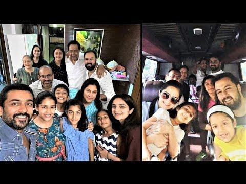 SURYA Fun time with JYOTHIKA family Mumbai !! TamilCineChips