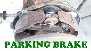 Parking Brake Replacement: Drum on Rear Disc Brake