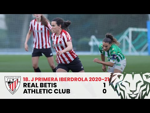 ⚽ RESUMEN I Real Betis 1-0 Athletic Club I J18 Primera Iberdrola 2020-21