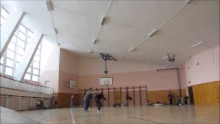 Indoor controlline F2D combat