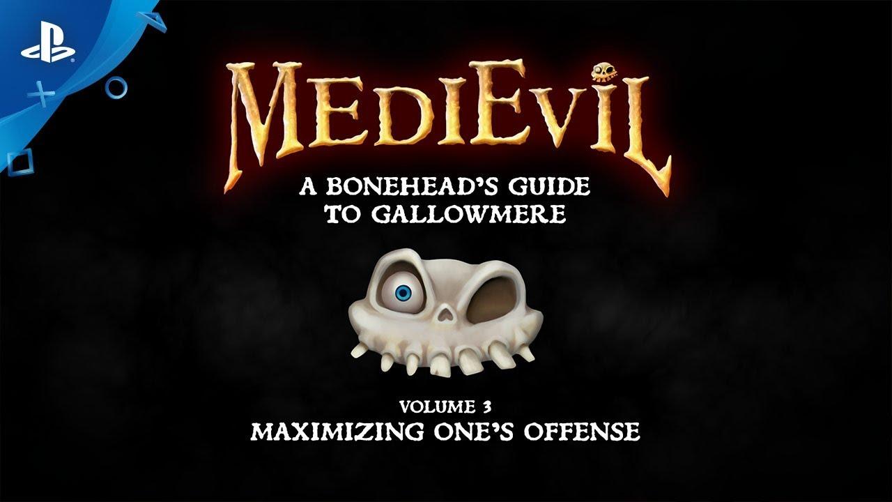 MediEvil: A Bonehead's Guide to Gallowmere – Volume 3