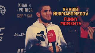 Khabib Nurmagomedov New FUNNY Moments - Part 1