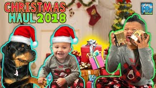 DINGLE HOPPERZ CHRISTMAS PRESENT HAUL 2018 VLOG