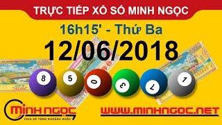 Trực tiếp xổ số MINH NGỌC T3 Ngày 12-06-2018 - Kênh Youtube chính thức từ Minhngoc.net.vn
