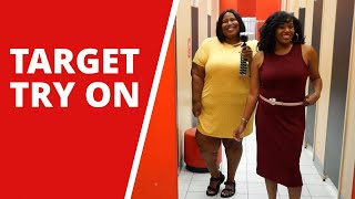 CUTE TARGET CLOTHES FOR ALL SIZES | DRESSING ROOM TRY ON