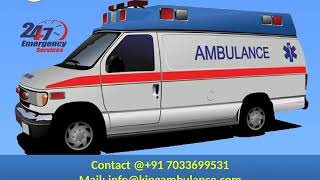 Take on Low Cost Road Ambulance in Hatia and Jamshedpur by King