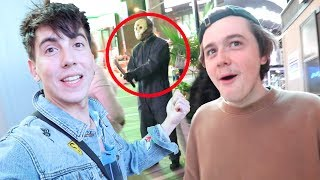 confronted by scary guy in times square (bad idea)