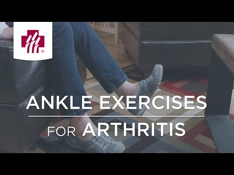 Ankle Exercises For Arthritis