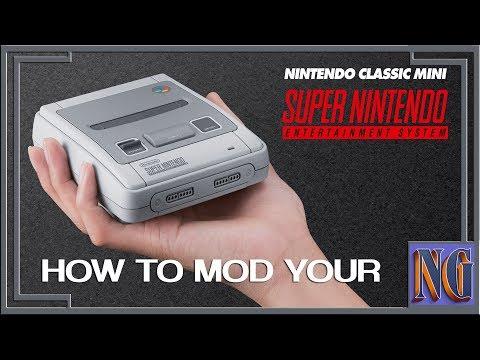 Download Tutorial Snes Super Nintendo Classic Mini Hack Spiele Per