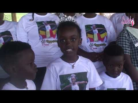 Little Miss Uganda gives back to the vulnerable kids
